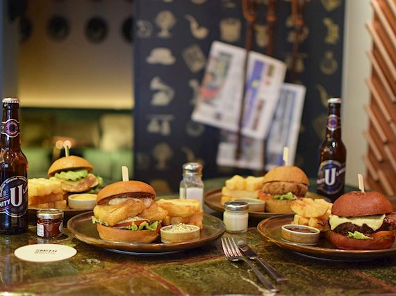 Bank Holiday Weekend - Burger Offer - Free Beer